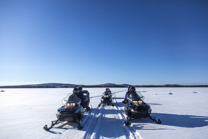 Snowmobile Tours in Kalix